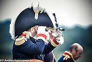Show of the repost Allies of the bicentenary of the Battle of Waterloo. <br /> Waterloo, 20 june 2015, Belgium
