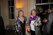 TORY LAURENCE; MAGGI HAMBLING, Nicky Haslam party for Janet de Botton and to celebrate 25 years of his Design Company.  Parkstead House. Roehampton. London. 16 October 2008.  *** Local Caption *** -DO NOT ARCHIVE-© Copyright Photograph by Dafydd Jones. 248 Clapham Rd. London SW9 0PZ. Tel 0207 820 0771. www.dafjones.com.