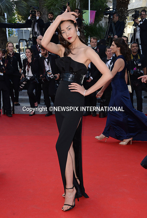 LIU WEN<br /> attends the &quot;Deux Jour, Une Nuit&quot; screening at the 67th Cannes Film Festival, Cannes<br /> Mandatory Credit Photo: &copy;NEWSPIX INTERNATIONAL<br /> <br /> **ALL FEES PAYABLE TO: &quot;NEWSPIX INTERNATIONAL&quot;**<br /> <br /> IMMEDIATE CONFIRMATION OF USAGE REQUIRED:<br /> Newspix International, 31 Chinnery Hill, Bishop's Stortford, ENGLAND CM23 3PS<br /> Tel:+441279 324672  ; Fax: +441279656877<br /> Mobile:  07775681153<br /> e-mail: info@newspixinternational.co.uk