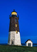Point Judith Lighthouse, Rhode Island, USA.