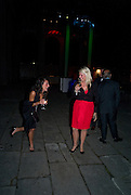 JESSICA CIANCAGAGLILI; NATHALIE NELSON, Tudor presentation. Triennale Museum of Milan. Milan. 29 September 2008 *** Local Caption *** -DO NOT ARCHIVE-© Copyright Photograph by Dafydd Jones. 248 Clapham Rd. London SW9 0PZ. Tel 0207 820 0771. www.dafjones.com.