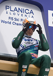 TEPES Jurij, SD Dolomiti, SLO  competes during Flying Hill Team Trial Round at 4th day of FIS Ski Flying World Championships Planica 2010, on March 21, 2010, Planica, Slovenia.  (Photo by Vid Ponikvar / Sportida)
