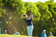 January 10 2015:  Sang-Moon Bae tees off on number eleven during the Second Round of the Hyundai Tournament of Champions at Kapalua Plantation Course on Maui, HI.