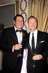 Left to right, TONY HADLEY and GARY KEMP at the Fantasy Ball in aid if children's cancer charity CLIC Sargent held at The Dorchester, Park Lane, London on 11th November 2010.