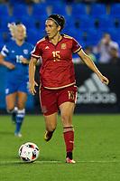 Spain's Silvia Meseguer during the match of  European Women's Championship 2017 at Leganes, between Spain and Finland. September 20, 2016. (ALTERPHOTOS/Rodrigo Jimenez)