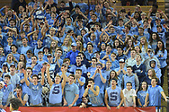 Shawnee fans cheer on their team in the first quarter of the New Jersey Group 4 State Championship game against Linden Sunday March 12, 2017 at Rutgers University in Piscataway, New Jersey. (Photo by William Thomas Cain)