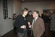 Jill Duchess of Hamilton and Kasmin, Misadventure In the Middle East. Travels As a Tramp, Artist and Spy by Henry Hemming. Book launch and exhibition. Paradise Row. London. E2.  -DO NOT ARCHIVE-© Copyright Photograph by Dafydd Jones. 248 Clapham Rd. London SW9 0PZ. Tel 0207 820 0771. www.dafjones.com.