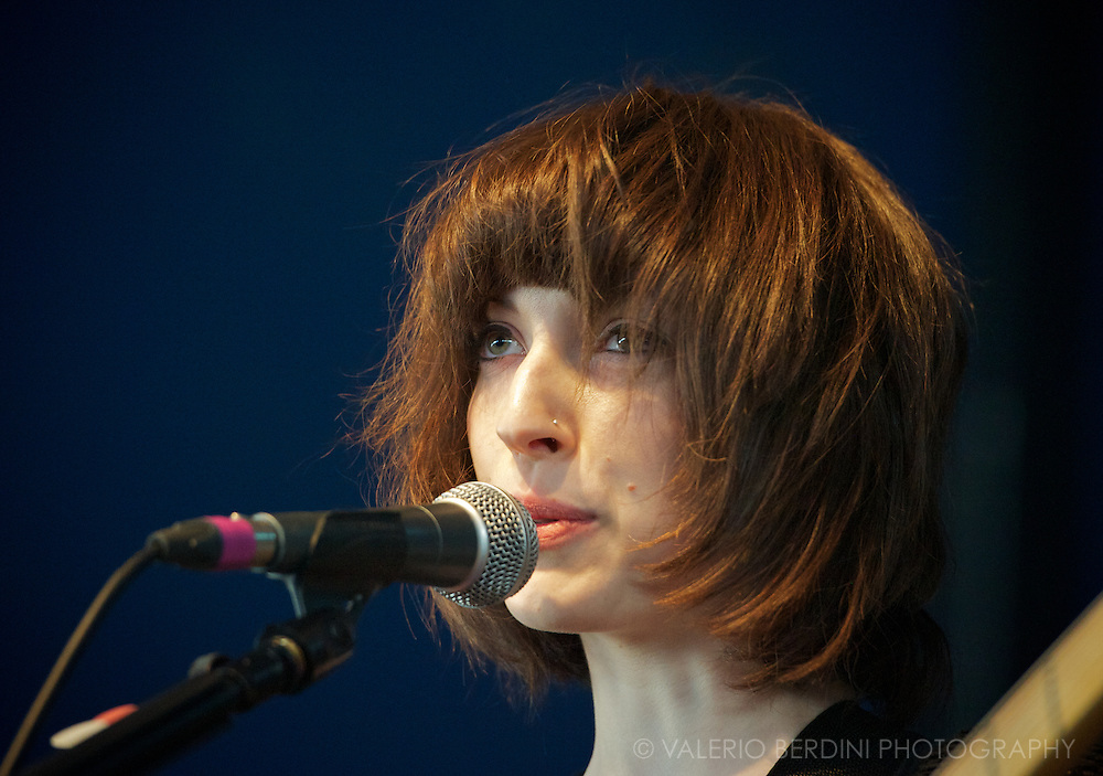Elena Tonra of Daughter at Field Day in London 25 may 2013 victoria park