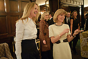 KATE REARDON; ANNA CARTER, Graydon and Anna Carter host a lunch for Carolina Herrera to celebrate the ipening of her new shop on Mount St. .The Connaught. London. 20 January 2010