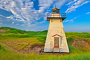 St. Peters Harbour Lighthouse<br />St. Peters Harbour <br />Prince Edward Island<br />Canada