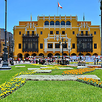 Palace of the Union in Lima, Peru<br />