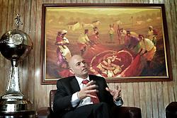 O economista e ex-secretário da Fazendo do Estado do RS, e atual CEO do S.C. Internacional Aod Cunha de Moraes Júnior no estádio Beira Rio. FOTO: Jefferson Bernardes/ Preview.com