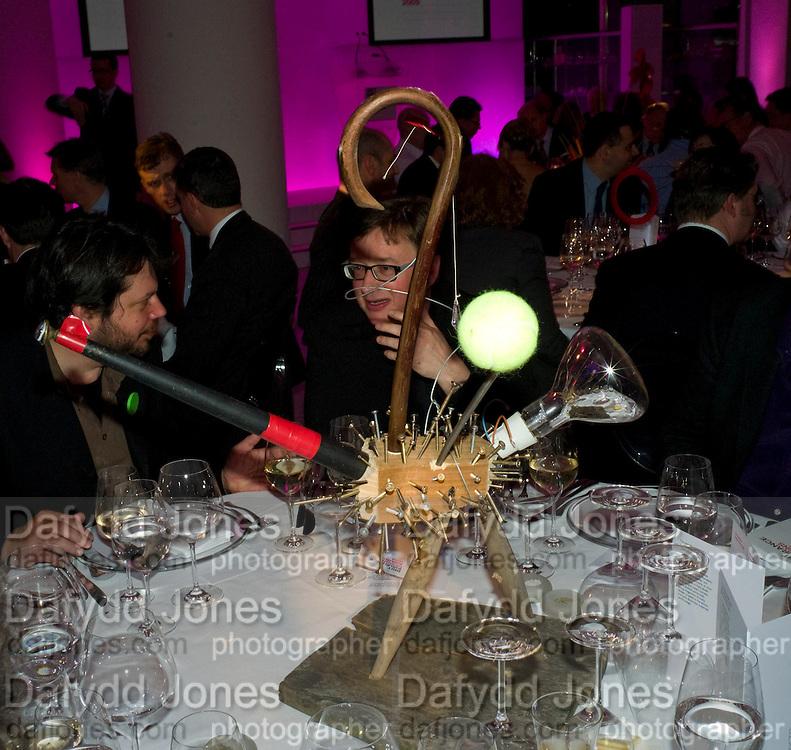 SEBASTIAN CONRAN, brit Insurance Design Awards 2009. Design Museum. London. 18 March 2009. *** Local Caption *** -DO NOT ARCHIVE-© Copyright Photograph by Dafydd Jones. 248 Clapham Rd. London SW9 0PZ. Tel 0207 820 0771. www.dafjones.com.<br /> SEBASTIAN CONRAN, brit Insurance Design Awards 2009. Design Museum. London. 18 March 2009.