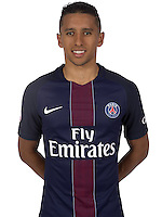 Marquinhos of PSG during PSG photo call for the 2016-2017 Ligue 1 season on September, 7 2016 in Paris, France<br /> Photo : C.Gavelle/ PSG / Icon Sport