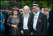 PETA FOWLER; MICHAEL GOLDSMITH; AFIFI AL-AKILI; , The Tercentenary Ball, Worcester College. Oxford. 27 June 2014