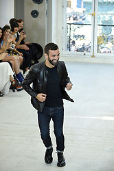 French Designer Nicolas Ghesquière during the runway at the Louis Vuitton show as a part of Paris Fashion Week Ready to Wear Spring/Summer 2017 on October 4th , 2016 in Paris, France. Photo by Alain Gil Gonzalez/ABACAPRESS.COM