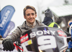 07.12.2014, Saalbach Hinterglemm, AUT, Snow Mobile, im Bild Esteban Gutierrez (MEX) Sauber Formula 1 Team // during the Snow Mobile Event at Saalbach Hinterglemm, Austria on 2014/12/07. EXPA Pictures © 2014, PhotoCredit: EXPA/ JFK