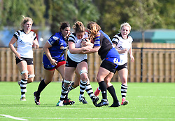 Amelia Buckland-Hurry of Bristol Bears Women - Mandatory by-line: Paul Knight/JMP - 02/09/2018 - RUGBY - Shaftsbury Park - Bristol, England - Bristol Bears Women v Dragons Women - Pre-season friendly