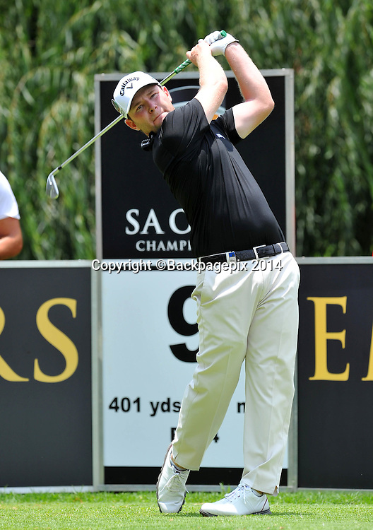 Branden Grace during the 2015 South Africa Golf Open Championship at the Glendower Golf Course in Johannesburg, South Africa on January 08, 2014 ©Samuel Shivambu/BackpagePix