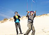 Kite Guys at Fire Island