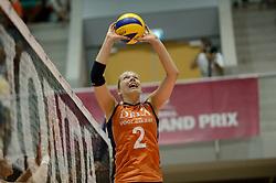 08-08-2014 NED: FIVB Grand Prix Nederland - Puerto Rico, Doetinchem<br /> Femke Stoltenborg
