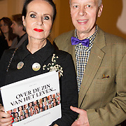 NLD/Heemstede/20151116 - Boekpresentatie De Zin van het Leven, Ans Markus en partner Wybe Tuinman