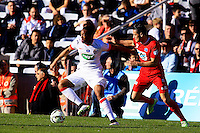 Anthony MARTIAL - 04.01.2014 - Nimes / Monaco - Coupe de France<br />Photo : Nicolas Guyonnet / Icon Sport