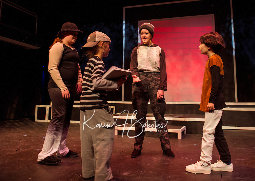 Winnipesaukee Playhouse Boy Who Drew Cats dress rehearsal.  Karen Bobotas for the Laconia Daily Sun