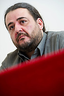 Rome mar 29th 2015, in the picture Tasos Koronakis, secretary of Syriza, left wing greek party - © PIERPAOLO SCAVUZZO