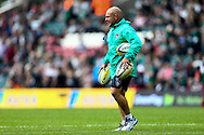 Leicester Tigers director of rugby Richard Cockerill during the Aviva Premiership match at Welford Road, Leicester<br /> Picture by Andy Kearns/Focus Images Ltd 0781 864 4264<br /> 06/09/2014