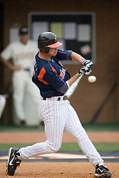 The Virginia Cavaliers defeated the Oregon State Beavers 7-4 in 13 innings during Game 4 of the NCAA World Series Regionals held at Davenport Field in Charlottesville, VA on June 2, 2007.