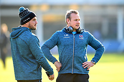 Luke Marshall of Ulster looks on prior to the match - Mandatory byline: Patrick Khachfe/JMP - 07966 386802 - 16/11/2019 - RUGBY UNION - The Recreation Ground - Bath, England - Bath Rugby v Ulster Rugby - Heineken Champions Cup