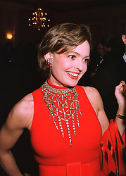 COUNTESS MAYA VON SCHONBURG ZU GLAUCHAU & WALDENBURG former wife of Friedrich Christian Flick, at a reception in London on 16th March 1998.<br /> MGB 99