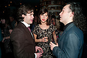 RUPERT GOOLD; SOPHIE HUNTER, Press night for the West End opening of ENRON.<br /> No'l Coward Theatre, St Martin's Lane, London WC2, afterwards: Asia De Cuba, St Martins Lane Hotel,  London. 25 January 2010<br /> RUPERT GOOLD; SOPHIE HUNTER, Press night for the West End opening of ENRON.<br /> Noël Coward Theatre, St Martin's Lane, London WC2, afterwards: Asia De Cuba, St Martins Lane Hotel,  London. 25 January 2010