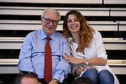 Gaetano Laguardia, Mara Invernizzi<br /> Nazionale Femminile Senior Amichevole<br /> FIP 2017<br /> Latina, 28/05/2017<br /> Foto Ciamillo-Castoria / GiulioCiamillo