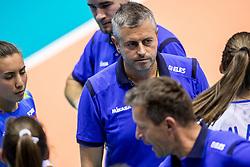 23-08-2017 NED: World Qualifications Greece - Slovenia, Rotterdam<br /> Coach Alessandro Chiodini SLO<br /> Photo by Ronald Hoogendoorn / Sportida