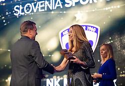 Bojan Ban and Janja Marolt Bozic at Sporto brands and awards during Sports marketing and sponsorship conference Sporto 2019, on November 21, 2019 in Hotel Slovenija, Congress centre, Portoroz / Portorose, Slovenia. Photo by Vid Ponikvar/ Sportida