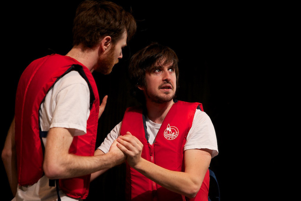 Hypnogogic Logic.presented by Uncalled For at Centaur Theatre's 2011 Wildside Festival in Montreal Canada...CREATED BY Matt Goldberg, Mike Hughes, Dan Jeannotte and Anders Yates..FEATURING Matt Goldberg, Dan Jeannotte, Nicolas Wright and Anders Yates..What is Hypnogogic Logic? The hypnogogic state is the quasi-hallucinatory zone between waking and sleeping. Therefore hypnogogic logic is the skewed reasoning that flows through your head as you are falling asleep. It must then follow that Uncalled For presents: Hypnogogic Logic is a trippy, literate sketch comedy ride through the obviously ridiculous world of dreams. Hilarious, brain-bending and epic, this is a show that can't even tell if it's awake or not..www.uncalledforimprov.com