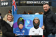 Scotland fans before the 2018 Autumn Test match between Scotland and Fiji at Murrayfield, Edinburgh, Scotland on 10 November 2018.