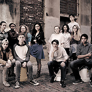 Sidewalk Film Festival - Youth Board Group Photo<br />