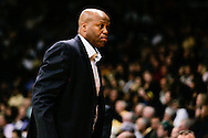 January 2nd, 2014:  Oregon State Beavers head coach Craig Robinson during first half action of the NCAA Basketball game between the Oregon State Beavers and the University of Colorado Buffaloes at the Coors Events Center in Boulder, Colorado
