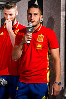 Koke Resureccion during the opening of the corner of the Spanish team in its new Adidas Store Gran Vía in Madrid. June 05 2016. (ALTERPHOTOS/Borja B.Hojas)