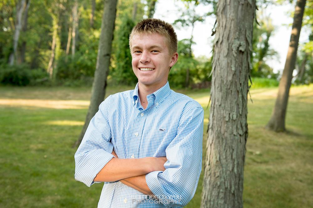 Brian's senior in Ann Arbor, Michigan. Photos by Melanie Maxwell