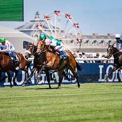 Ice Breeze (V. Cheminaud) wins Gr.2 Prix Hocquart Longines Chantilly, France 18/06/2017, photo: Zuzanna Lupa / Racingfotos.com