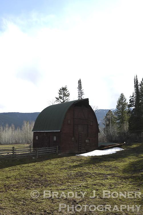 Sandy Chapman's barn collapse