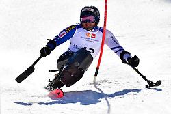 MORII Taiki, LW11, JPN, Slalom at the WPAS_2019 Alpine Skiing World Cup Finals, Morzine, France