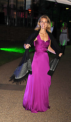 CAROLINE, COUNTESS SPENCER at the Royal Parks Foundation Summer Party hosted by Candy & Candy on the banks of the Serpentine, Hyde Park, London on 10th September 2008.