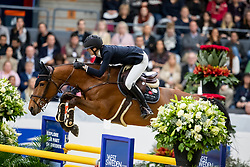 SWARTZ Erica (SWE), Jovita<br /> Göteborg - Gothenburg Horse Show 2019 <br /> Gothenburg Trophy presented by VOLVO<br /> Int. jumping competition with jump-off (1.55 m)<br /> Longines FEI Jumping World Cup™ Final and FEI Dressage World Cup™ Final<br /> 06. April 2019<br /> © www.sportfotos-lafrentz.de/Stefan Lafrentz