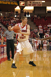 14 February 2004  Gregg Alexander. Illinois State Redbirds V Indiana State Sycamores at Redbird Arena in Normal Illinois.