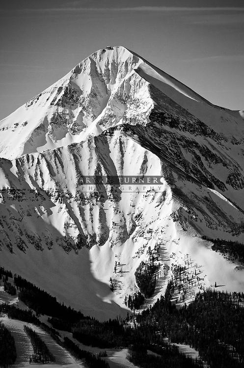 High alpine veiws of Lone Peak.  Limited Edition - 75